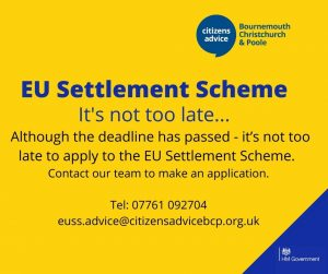 Read more about the article Do you need help with the EU Settlement Scheme?